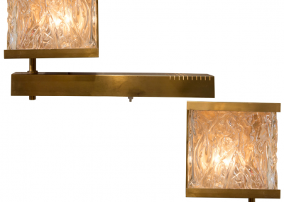 glassandbrasssconces