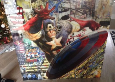 captain-america-mixed-media